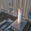 スモッグに悩まされている中国では都市の真ん中に巨大な空気清浄機を設置!効果はすずめの涙のレベルwww
