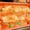 角天と蕎麦米のとろとろカマンベール蕎麦粉グラタン