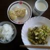 野菜のカレー炒めとジャガイモバター