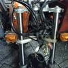 #バイク屋の日常 #ホンダ #FTR223 #ヘッドライト #メーター #カスタム