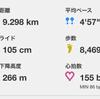 夏に向けて、ゆっくり走を試してみた