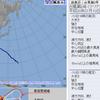 台風8号『マリア』は10日16時で宮古島付近にあって中心気圧は940hPa・最大風速50m/s・最大瞬間風速70m/sと『非常に強い』勢力に!今後勢力を保ったまま先島諸島の海上を西北西に進む見込み!!