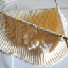 【棒針編み】アラン模様のニット帽編みはじめ