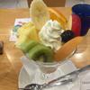 フルーツパーラーゴトーでフルーツパフェ(浅草)