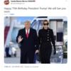 Happy Birthday Mr President  2021年6月14日