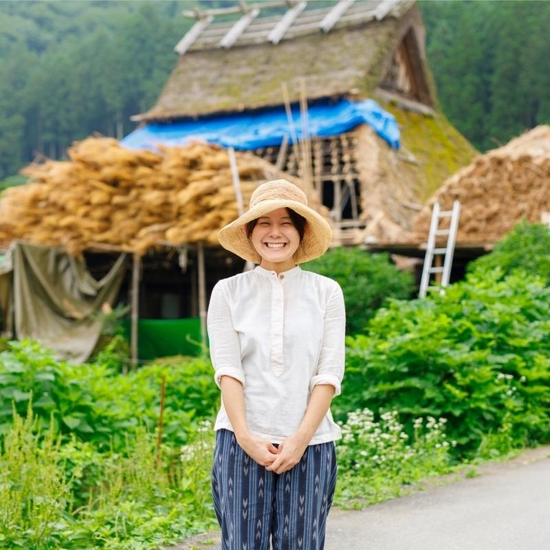【CMで話題】美山かやぶきの里、女性茅葺き職人に直撃してしてみた!
