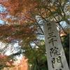 京都大原「三千院門跡」紅葉