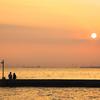 夕陽は何度見てもいいものです ~江川海岸~