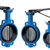 High Temperature Resisted Teflon Coated Butterfly Valves