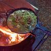 2020秋キャンプ 焚き火でキャンプ飯作るなら「すき焼き」でしょ!