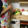 ままごとキッチンのDIY☆子どものままごとキッチンを手作りしてみました!