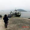 【韓国旅行記51回2日目ー1】 朝早く起きてバスと船で島へ渡る(平成26年5月24日(土))