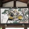 武田山麓の眞幡神社に奉納してありました侍大将の絵馬、すごくかっこいいです。