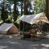 夏キャンプは『林間サイト一択』『姉川パーク』『前編』