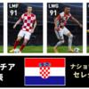 【ウイイレ FP】クロアチア ナショナルチームセレクション  全選手レベマ能力と当たりランキング【NS 6月14日】
