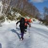 2021-3-23 小滝沢(630.2㍍)厚別峰(633㍍)札幌150峰