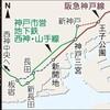 阪急神戸線と神戸市営地下鉄西神・山手線との乗り入れルート案について