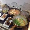 幸運な病のレシピ( 1963 )朝:おでん(味噌味)、黒豆、鮭、アジの開き、豆苗スープ、マユのご飯