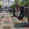 7/11(日)まで、エイスクエアの「アンブレラ・パティオ」雨でも楽しい傘装飾★草津市