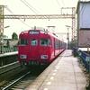 茶所駅界隈 名鉄7100系・国鉄EF65・白樺