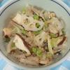 蓮根でシャキシャキ根菜挽肉炒め