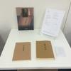 """タイポグラフィ課題展示「遠野物語""""初版本の研究と現代語復刻」"""