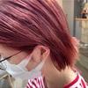 劇的ビフォーアフター▶︎ベージュ系カラーからの【サーモンピンク】に大変身