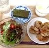 5月19日の食事記録~揚げない唐揚げ