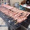 #0231 国営ひたち海浜公園のハム焼と豚ドッグがオススメ。