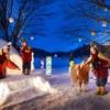 星野リゾート 青森屋で、冬季限定イベント「雪んこ×ねぶた灯篭まつり」を開催。青森屋オリジナルの菓子やノートも販売