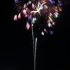 多彩な色の花火