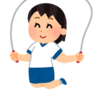【知育】3歳の縄跳び遊び!