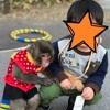 猿と息子、密着ツーショット写真が撮れた!