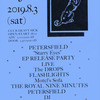 【The Royal Nine Minutes】ライブ 8/6(土)@幡ヶ谷ヘビーシック「PETERSFIELD EP RELEASE PARTY」