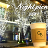 A cafe where you can enjoy christmas light / GREEN BROTHERS @OTEMACHI