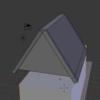 【ゲーム制作】Blenderを使ってラビットハウスっぽいやつをモデリングする①