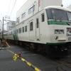 三島広小路駅で見かけた電車