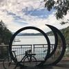最後のCA旅行記(その9) 日月潭でサイクリング
