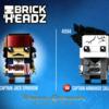 レゴ(LEGO) ブリックヘッズ  「パイレーツ・オブ・カリビアン」の画像が公開されています。