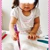 ☆ 初めてのお絵かき 《1歳3ヶ月》