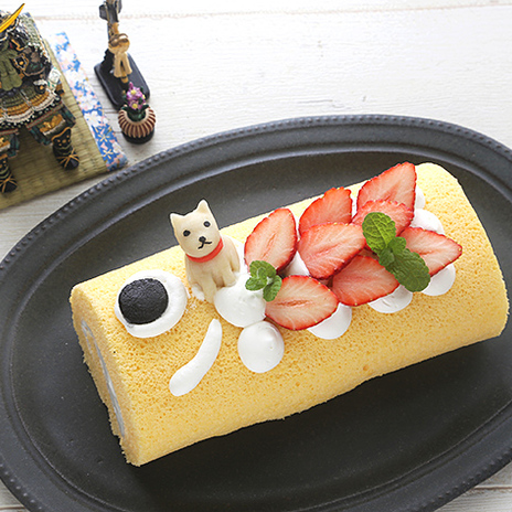 こいのぼりのロールケーキで「こどもの日」をお祝いしましょ♪