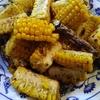トウモロコシのピリ辛炒め