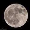 満月をRRS(リアル・レゾリューション・システム)で試し撮ってみる