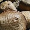 マタタビ笊ヒゴ作り