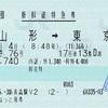 つばさ76号 新幹線特急券