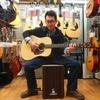 信州産アコースティックギターとカホン紹介
