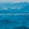 [返答率100%] 私の英語の履歴書の書き方