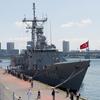 トルコ海軍「ゲディズ」&護衛艦「たかなみ」