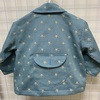 小さな子供の手作り服 カバーオール