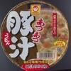 マルちゃん あつあつ豚汁うどん 合せ味噌 138円